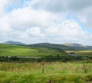 Bodmin Moor in North Cornwall