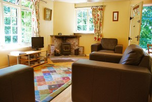 A typical holiday cottage interior