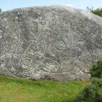 Crest on Jubilee Rock near Blisland