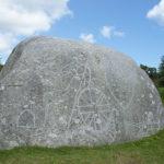Jubilee Rock, on one of our favourite walks near Blisland