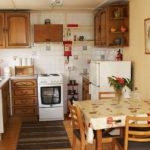 Lakeside kitchen Dining area