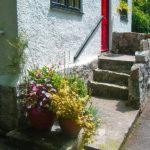 Lakeside front door
