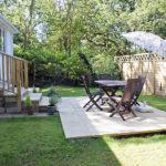 Stables al fresco - private outdoor patio area