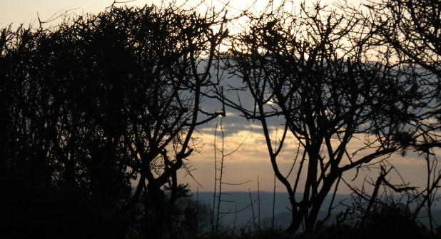 A Winter sky  at Darrynane