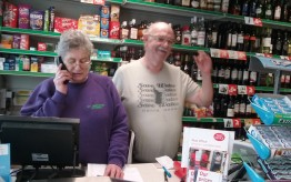 Christine & Denis Lusby St Breward stores and Post office