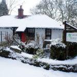 A snowy Entrance